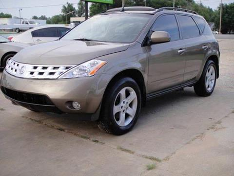 2003 Nissan Murano for sale in Oklahoma City, OK