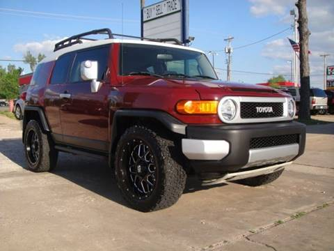 2008 Toyota FJ Cruiser for sale at AUTO BARGAIN, INC in Oklahoma City OK