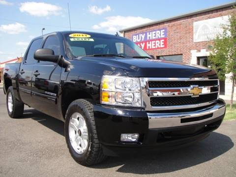 2011 Chevrolet Silverado 1500 for sale at AUTO BARGAIN, INC in Oklahoma City OK