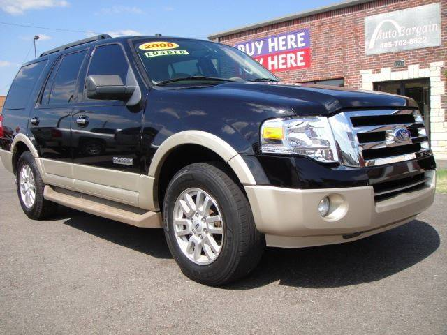 2008 Ford Expedition for sale at AUTO BARGAIN, INC in Oklahoma City OK