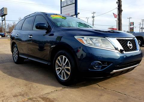 2013 Nissan Pathfinder for sale in Oklahoma City, OK