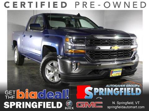 2017 Chevrolet Silverado 1500 for sale in North Springfield, VT