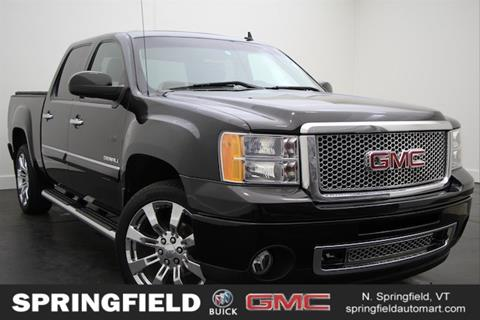 2013 GMC Sierra 1500 for sale in North Springfield VT