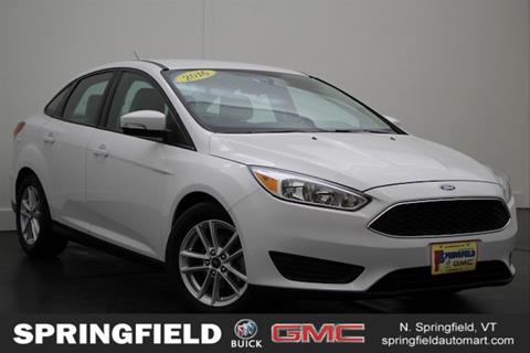 2016 Ford Focus for sale in North Springfield, VT