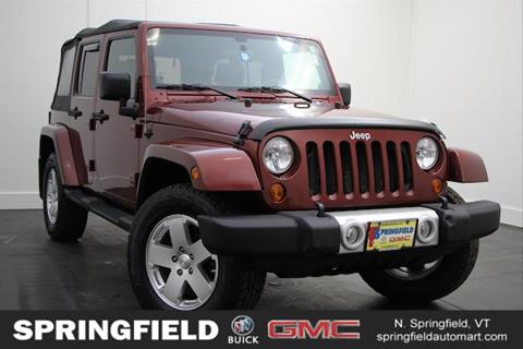 2010 Jeep Wrangler Unlimited for sale in North Springfield, VT
