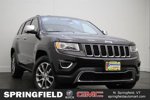 2015 Jeep Grand Cherokee for sale in North Springfield VT