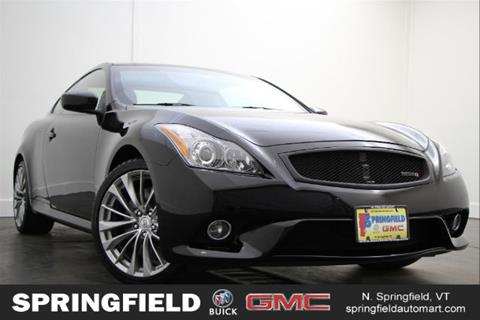 2013 Infiniti G37 Coupe for sale in North Springfield, VT