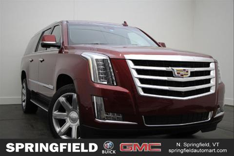 2017 Cadillac Escalade ESV for sale in North Springfield, VT