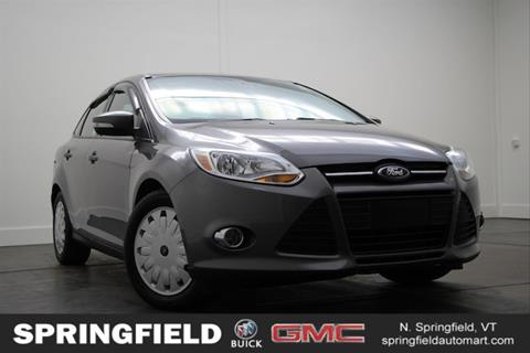 2013 Ford Focus for sale in North Springfield, VT