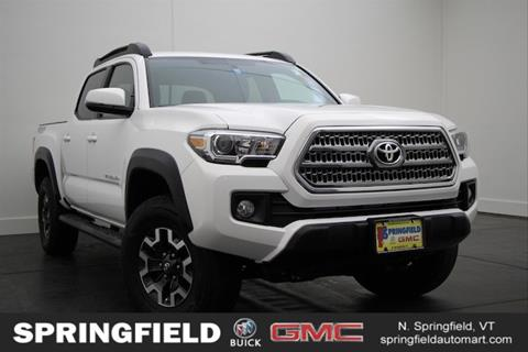 2017 Toyota Tacoma for sale in North Springfield VT