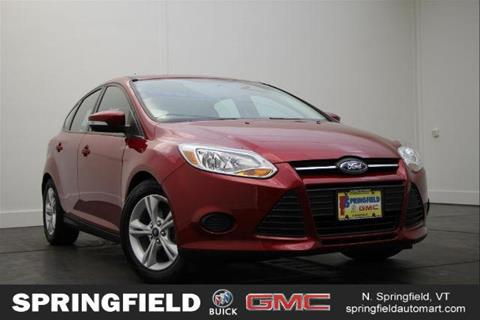 2014 Ford Focus for sale in North Springfield, VT