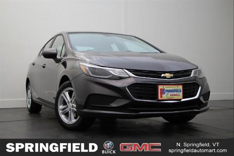 2017 Chevrolet Cruze for sale in North Springfield, VT