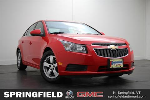 2014 Chevrolet Cruze for sale in North Springfield VT