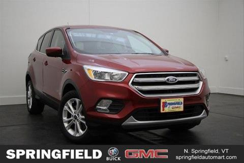 2017 Ford Escape for sale in North Springfield, VT