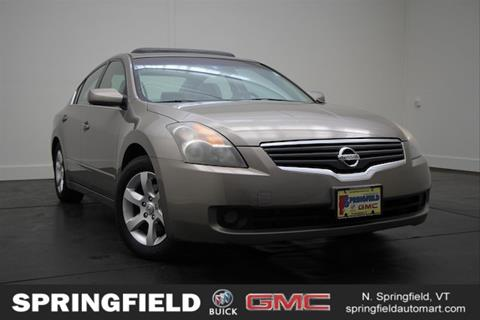 2007 Nissan Altima for sale in North Springfield, VT