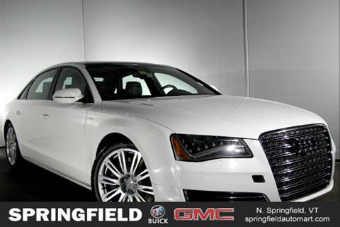 2014 Audi A8 L for sale in North Springfield VT