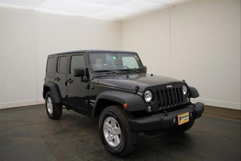 2018 Jeep Wrangler Unlimited for sale in North Springfield, VT