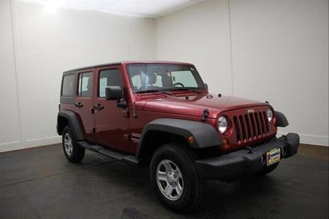 2012 Jeep Wrangler Unlimited for sale in North Springfield, VT