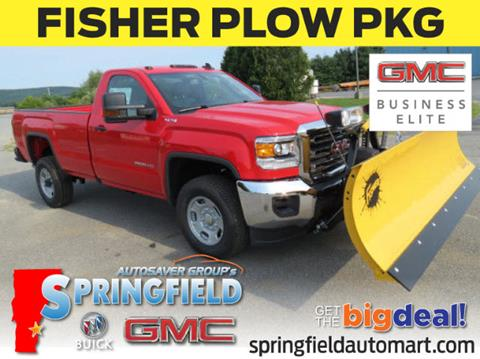 2016 GMC Sierra 2500HD for sale in North Springfield VT