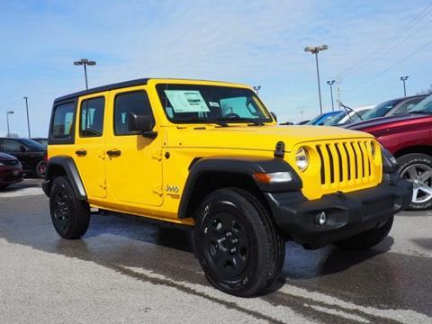 2019 Jeep Wrangler Unlimited for sale in Lansing, KS