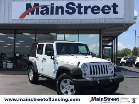 2017 Jeep Wrangler Unlimited for sale at Speedway Dodge in Lansing KS