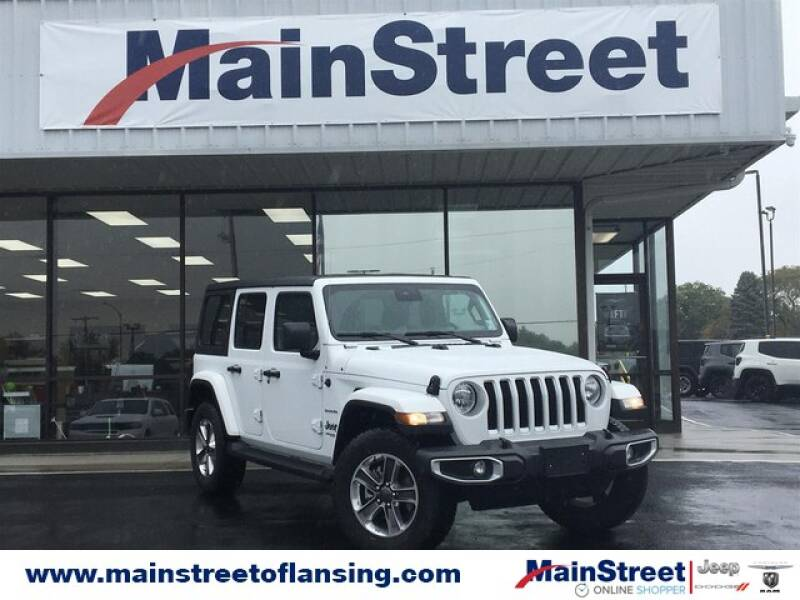 2020 Jeep Wrangler Unlimited for sale at Speedway Dodge in Lansing KS