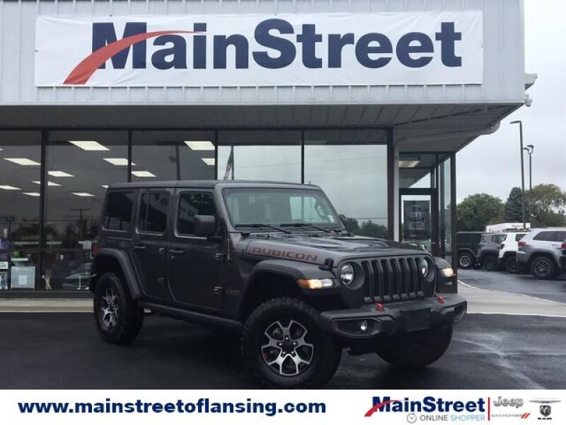 2020 Jeep Wrangler Unlimited for sale at Speedway Dodge in Lansing KS