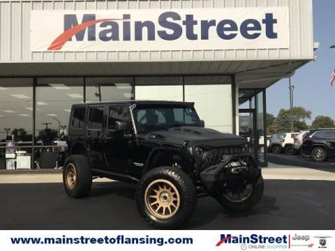 2009 Jeep Wrangler Unlimited for sale at Speedway Dodge in Lansing KS