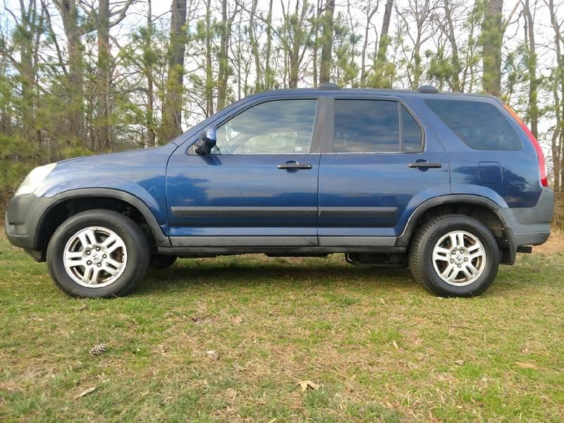 2003 Honda CR V AWD EX 4dr SUV   Saluda VA
