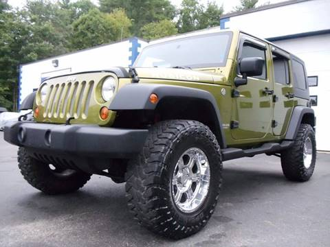 2007 Jeep Wrangler Unlimited for sale in Kingston, NH