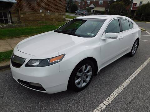 2012 Acura TL for sale in Philadelphia, PA