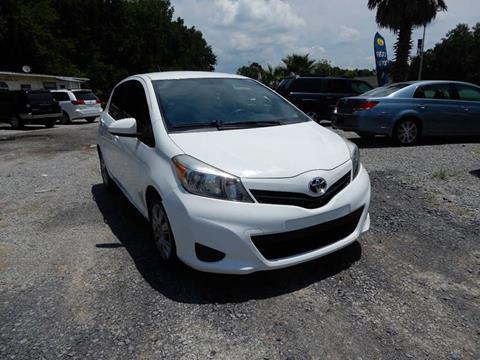 2012 Toyota Yaris for sale at B&B AUTO RTO LLC in Sorrento LA