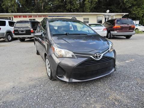 2015 Toyota Yaris for sale at B&B AUTO RTO LLC in Sorrento LA