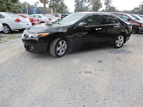 2010 Acura TSX for sale at B&B AUTO RTO LLC in Sorrento LA