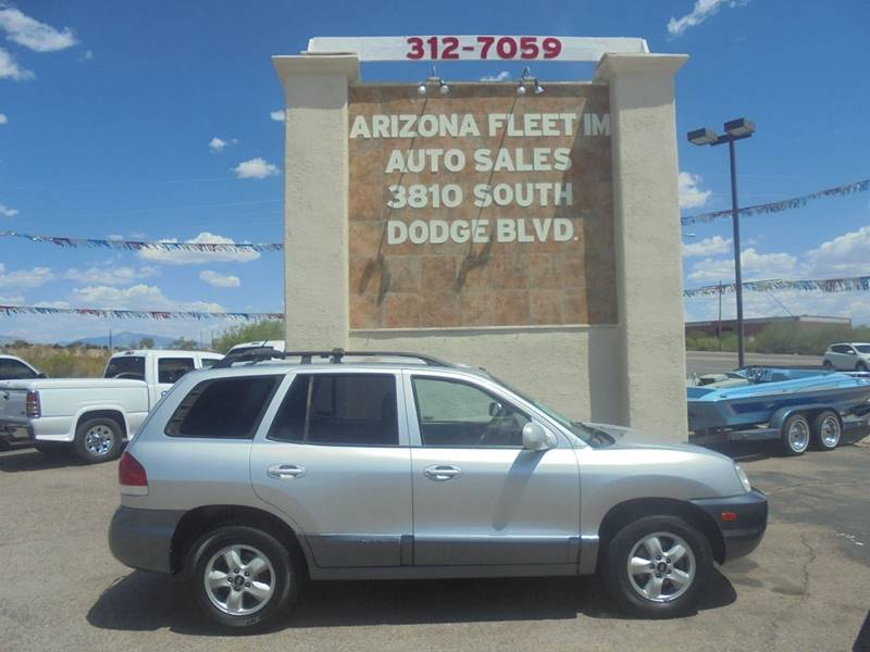 2005 Hyundai Santa Fe For Sale At ARIZONA FLEET IM In Tucson AZ