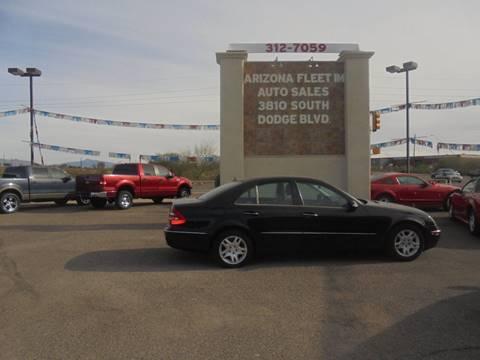 Mercedes Benz E Class For Sale In Tucson Az Arizona Fleet Im