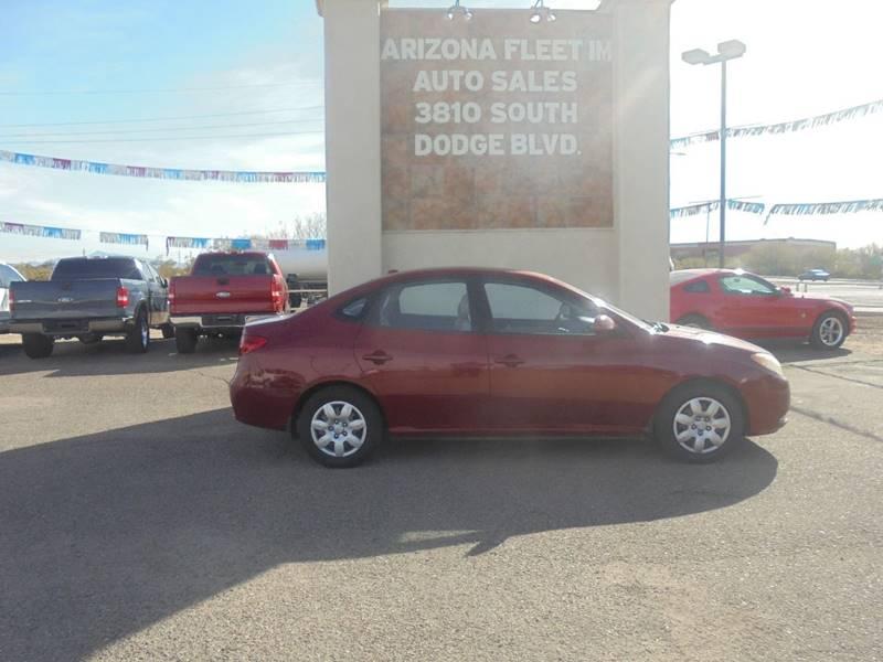 2008 Hyundai Elantra For Sale At ARIZONA FLEET IM In Tucson AZ