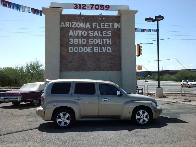 2006 Chevrolet HHR For Sale At ARIZONA FLEET IM In Tucson AZ
