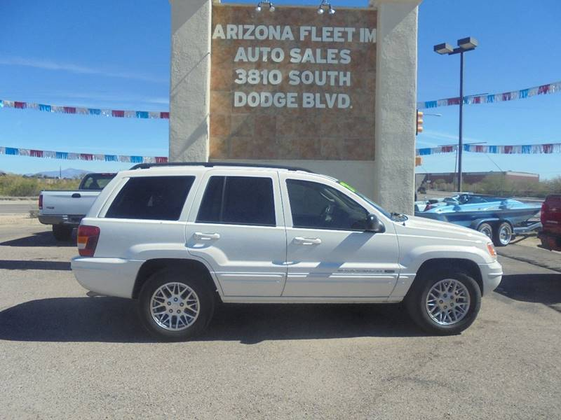 2004 Jeep Grand Cherokee For Sale At ARIZONA FLEET IM In Tucson AZ