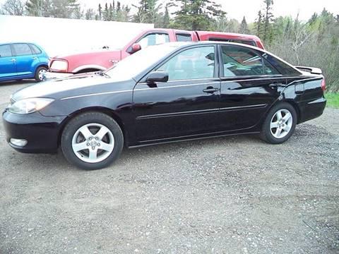 2002 Toyota Camry for sale at Superior Auto of Negaunee in Negaunee MI