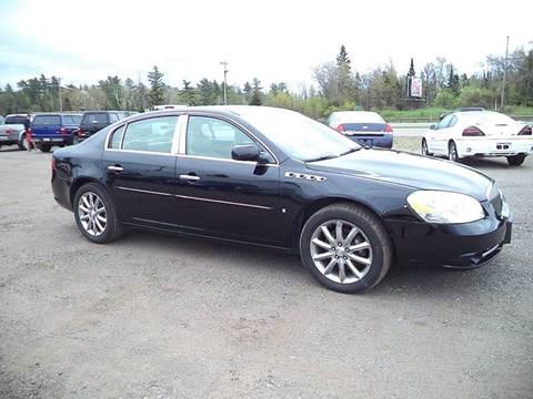 2008 Buick Lucerne for sale at Superior Auto of Negaunee in Negaunee MI