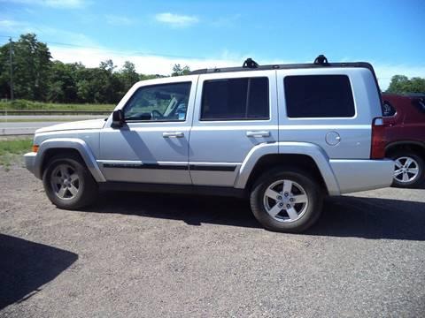 2007 Jeep Commander for sale at Superior Auto of Negaunee in Negaunee MI