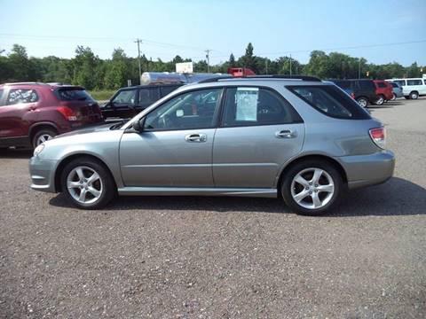 2007 Subaru Impreza for sale at Superior Auto of Negaunee in Negaunee MI