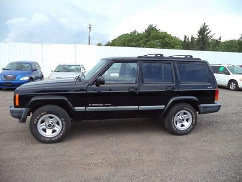 2001 Jeep Cherokee for sale at Superior Auto of Negaunee in Negaunee MI