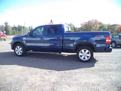 2008 Ford F-150 for sale at Superior Auto of Negaunee in Negaunee MI