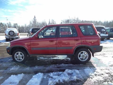 2001 Honda CR-V for sale at Superior Auto of Negaunee in Negaunee MI