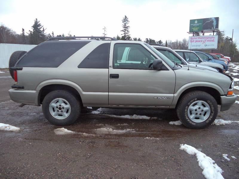 2000 Chevrolet Blazer 2dr LS 4WD SUV In Negaunee MI - Superior Auto