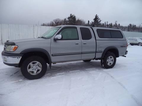 2001 Toyota Tundra for sale at Superior Auto of Negaunee in Negaunee MI