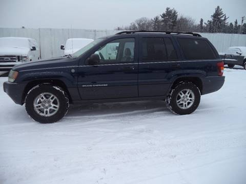 2004 Jeep Grand Cherokee for sale at Superior Auto of Negaunee in Negaunee MI