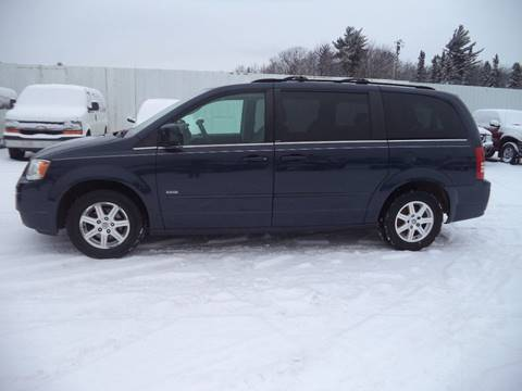 2008 Chrysler Town and Country for sale at Superior Auto of Negaunee in Negaunee MI